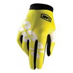 100% Handschuhe Itrack Neon Yellow