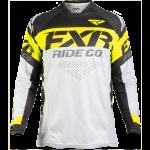 FXR Revo Offroad Motocross Jersey Grey/Hi-Vis