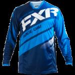 FXR Mission Motocross Jersey Navy/Blue/White