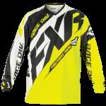 FXR Clutch Prime Motocross Jersey Hi-Vis/Black/White