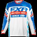 FXR Revo Motocross Jersey White/Navy/Red
